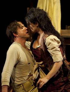 WNO Carmen - Peter Wedd (Don Jose) & Alessandra Volpe (Carmen) photo credit Jeni Clegg 77