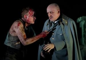 Peter Wedd and Brindley Sharratt in Ines de Castro 2015 (C) Ken Dundas