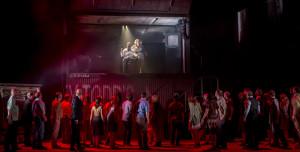 SWEENEY TODD, , DIRECTOR - James Brining, Designer - Colin Richmond, Lighting - Chris Davey, The Welsh National Opera, The Millenium Centre, 2015, Credit: Johan Persson/