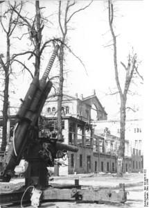 Berlin, zerstörte Krolloper am Platz der Republik