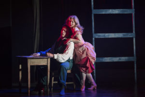 Neal Cooper and Alison Kettlewell in Tannhauser c. Matthew Williams-Ellis